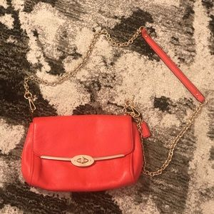 COACH Blood Orange Crossbody Bag